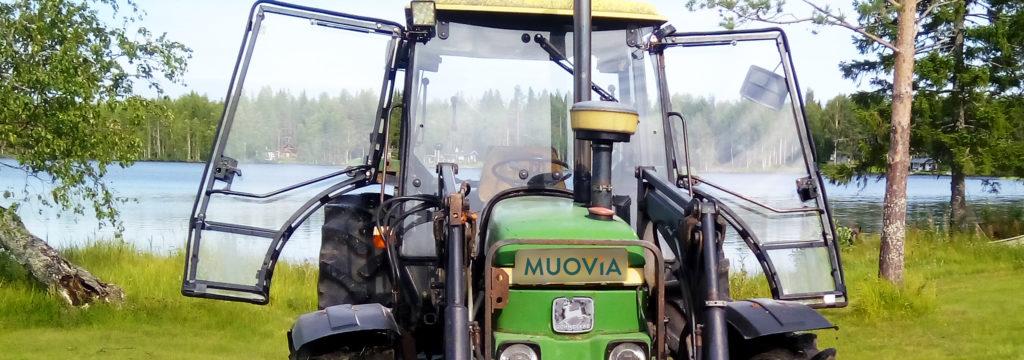 Traktorin tuulilasi