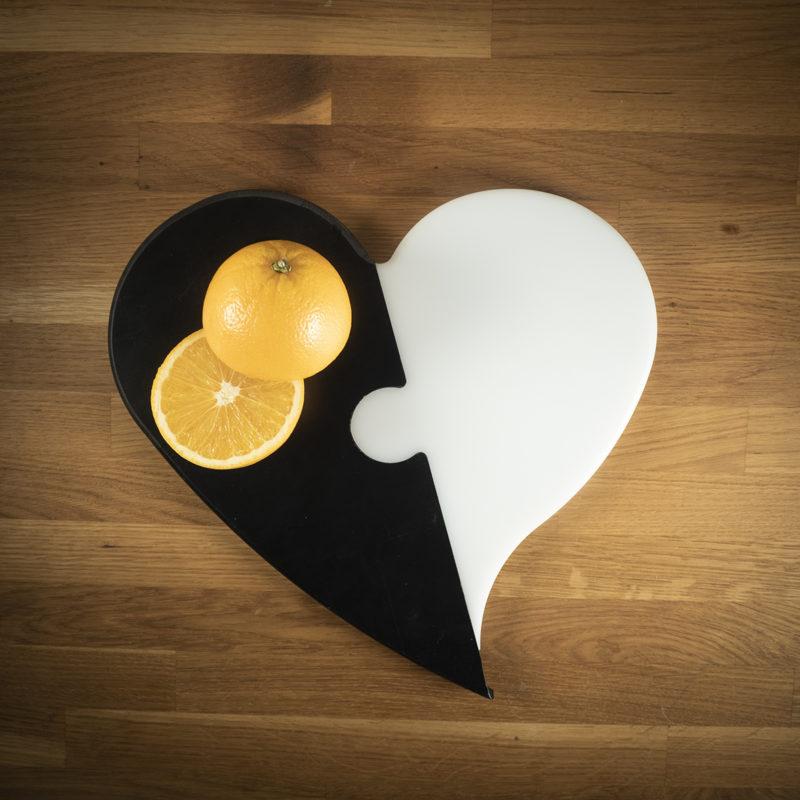 Leikkuulauta sydän iso