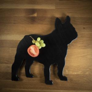 ´Leikkuulauta koira ranskanbulldoggi
