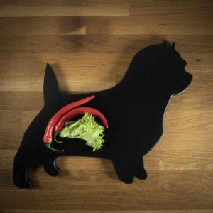 Leikkuulauta koira Caininterrieri